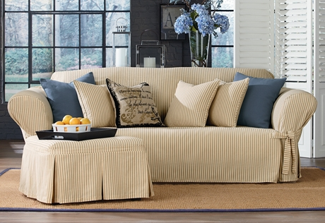 Sure Fit Category For Sofa Loveseat Slipcovers (#9 of 15)