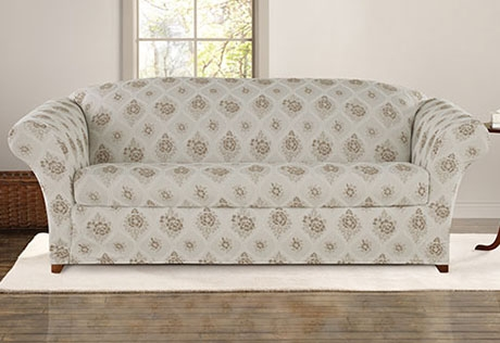 Sure Fit Category Regarding Sofa Settee Covers (#15 of 15)