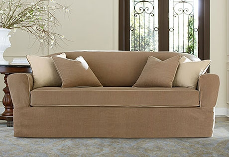Sure Fit Category With Regard To Sofa Loveseat Slipcovers (#12 of 15)