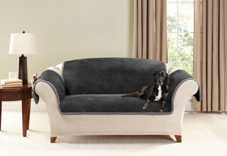 Sure Fit Category Within Slipcover For Leather Sofas (#15 of 15)