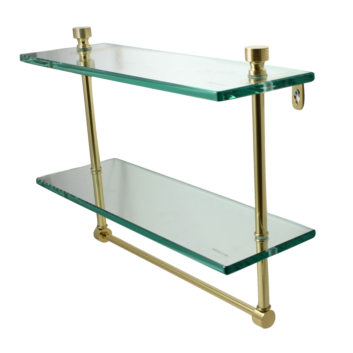 Suspended Glass Shelf Glass Cable Shelving Supporting Bread Inside Cable Suspended Glass Shelves (#10 of 12)