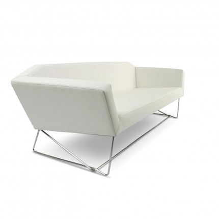 Swept Sofa Modern Seating Blu Dot For White Modern Sofas (#11 of 15)