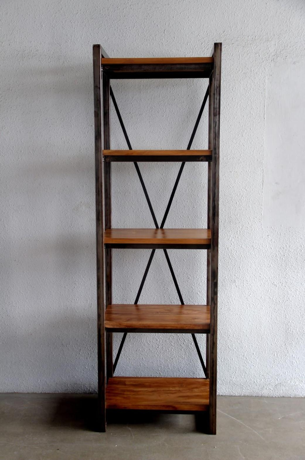 Tall Narrow Bookcase For Small Rooms Regarding Free Standing Bookcases (#14 of 15)