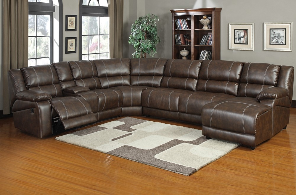 15 Inspirations Of Recliner Sectional Sofas