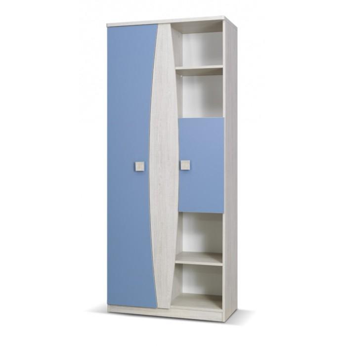Tenus Childrens 2 Door Wardrobe With Shelves Within Wardrobe With Shelves (#12 of 15)
