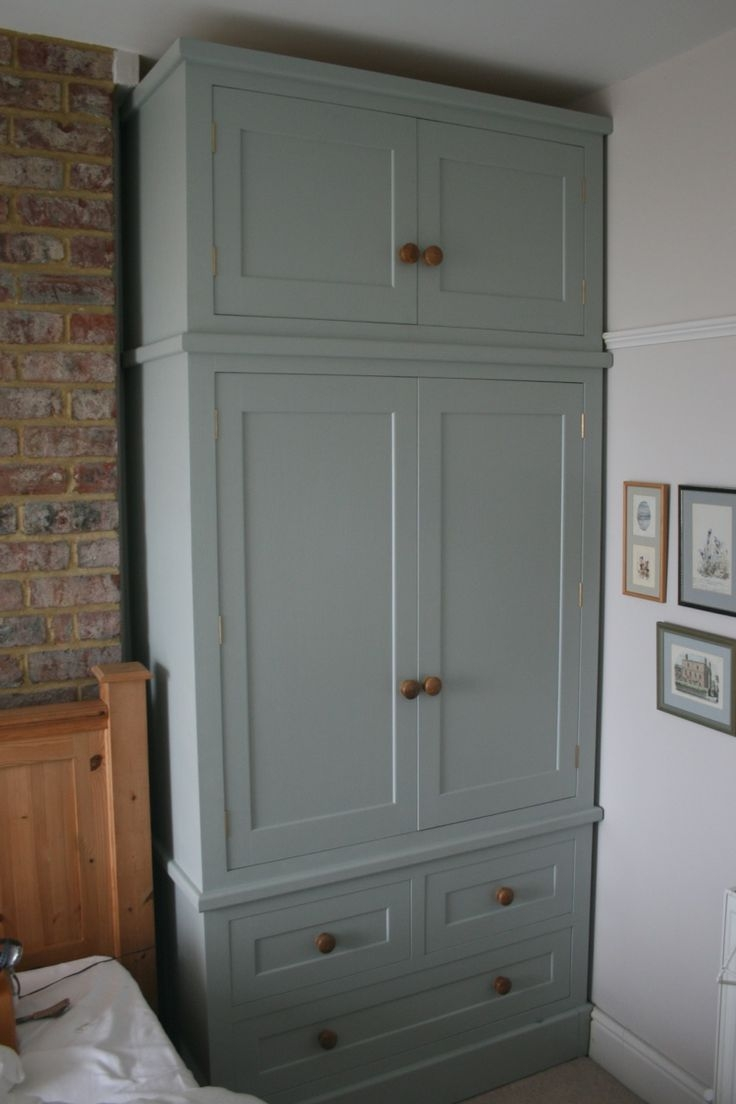 The 23 Best Images About Wardrobe Chimney Breast On Pinterest Intended For Solid Wood Fitted Wardrobes (View 7 of 15)