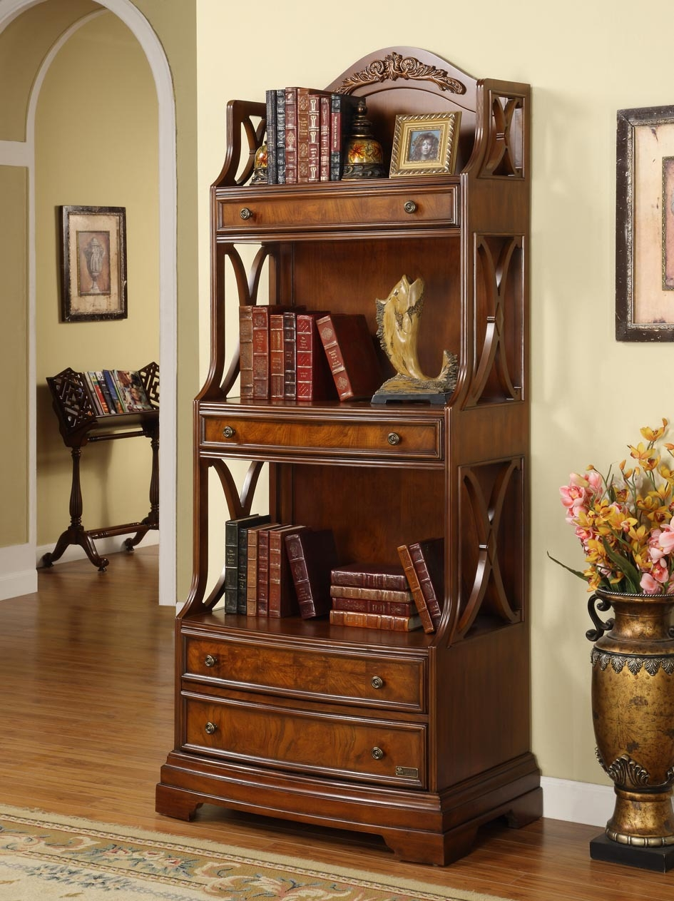The Advantages Of Solid Wood Bookcases With Regard To Solid Wood Bookcases (#15 of 15)