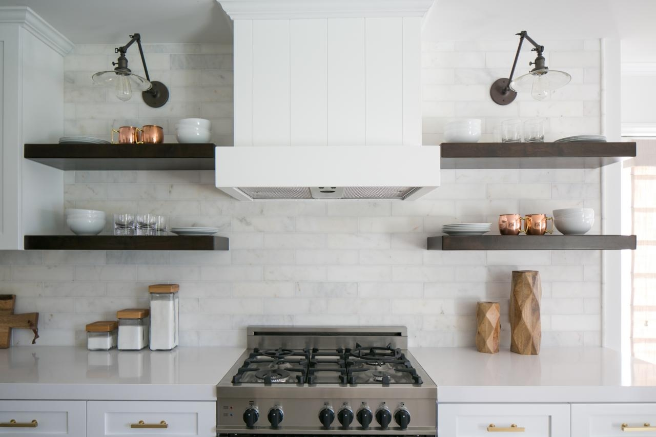 The Benefits Of Open Shelving In The Kitchen Hgtvs Decorating With Regard To Kitchen Shelves (#11 of 12)