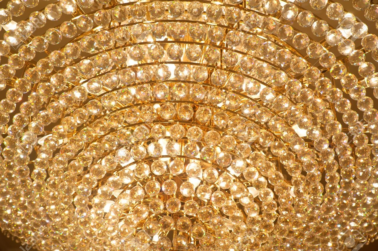 The Big Crystal Chandelier Stock Photo Picture And Royalty Free Intended For Big Crystal Chandelier (View 6 of 12)