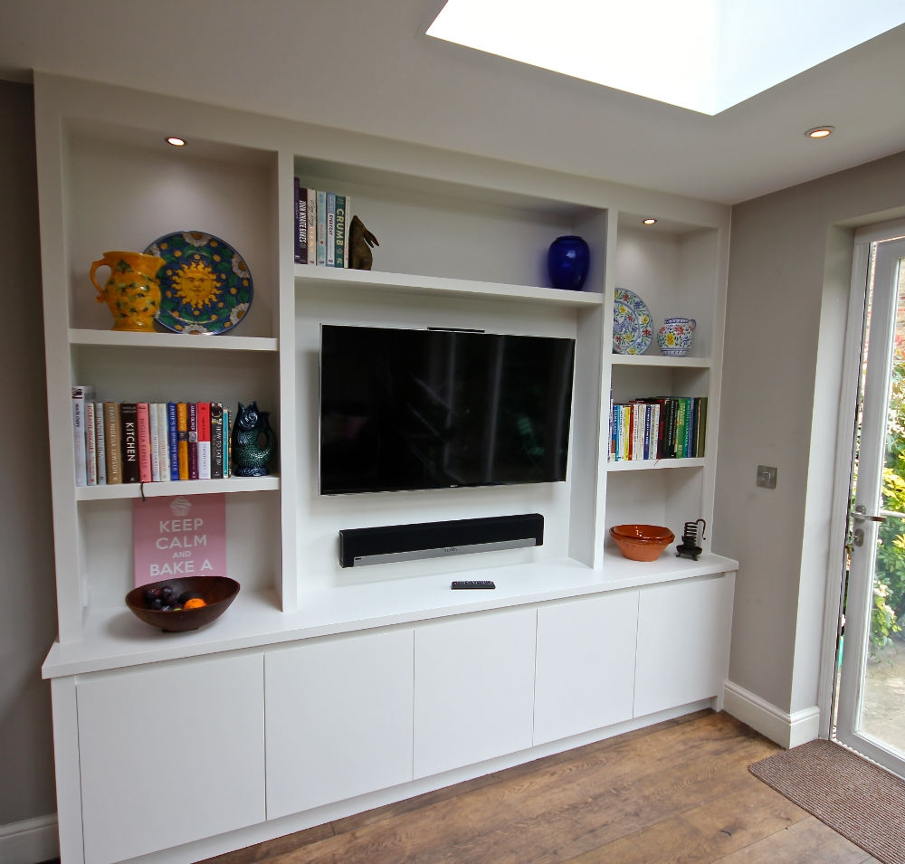 The Bookcase Co Specialises In Bespoke Bookcases Alcove Units And For Bespoke Bookcases (#15 of 15)