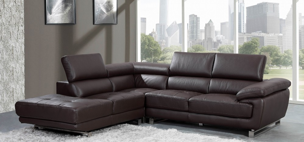 The Different Options In Brown Leather Corner Sofa Regarding Leather Corner Sofas (#11 of 15)