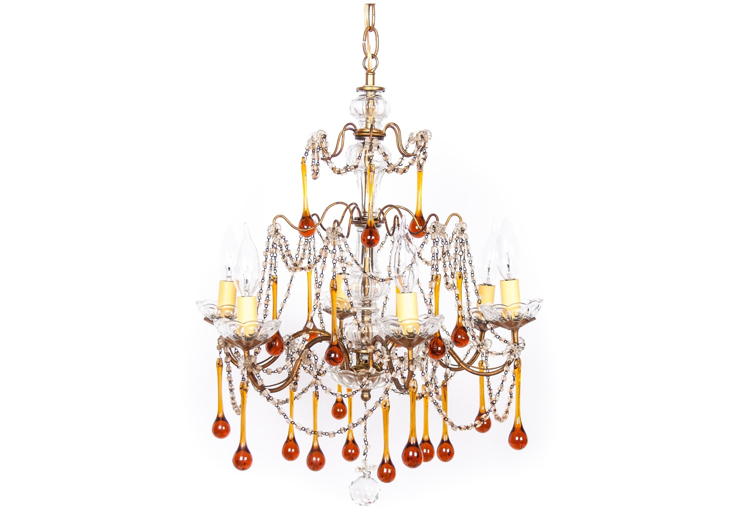 The Italian Chandelier Pertaining To Vintage Italian Chandelier (#8 of 12)