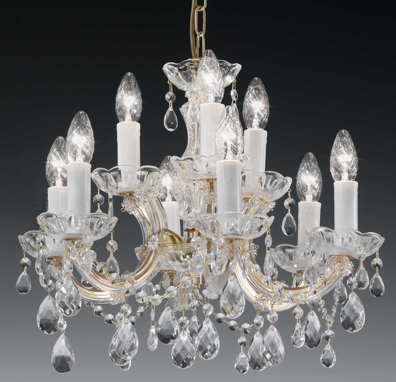 The Italian Chandelier Throughout Vintage Italian Chandelier (#9 of 12)