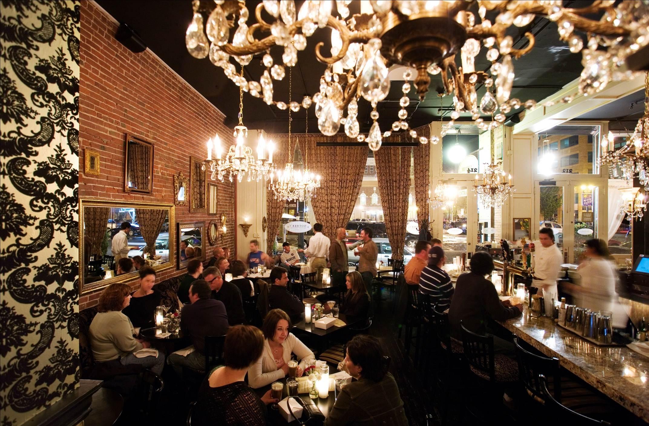 The Restaurant Mothers Bistro In Restaurant Chandeliers (#11 of 12)