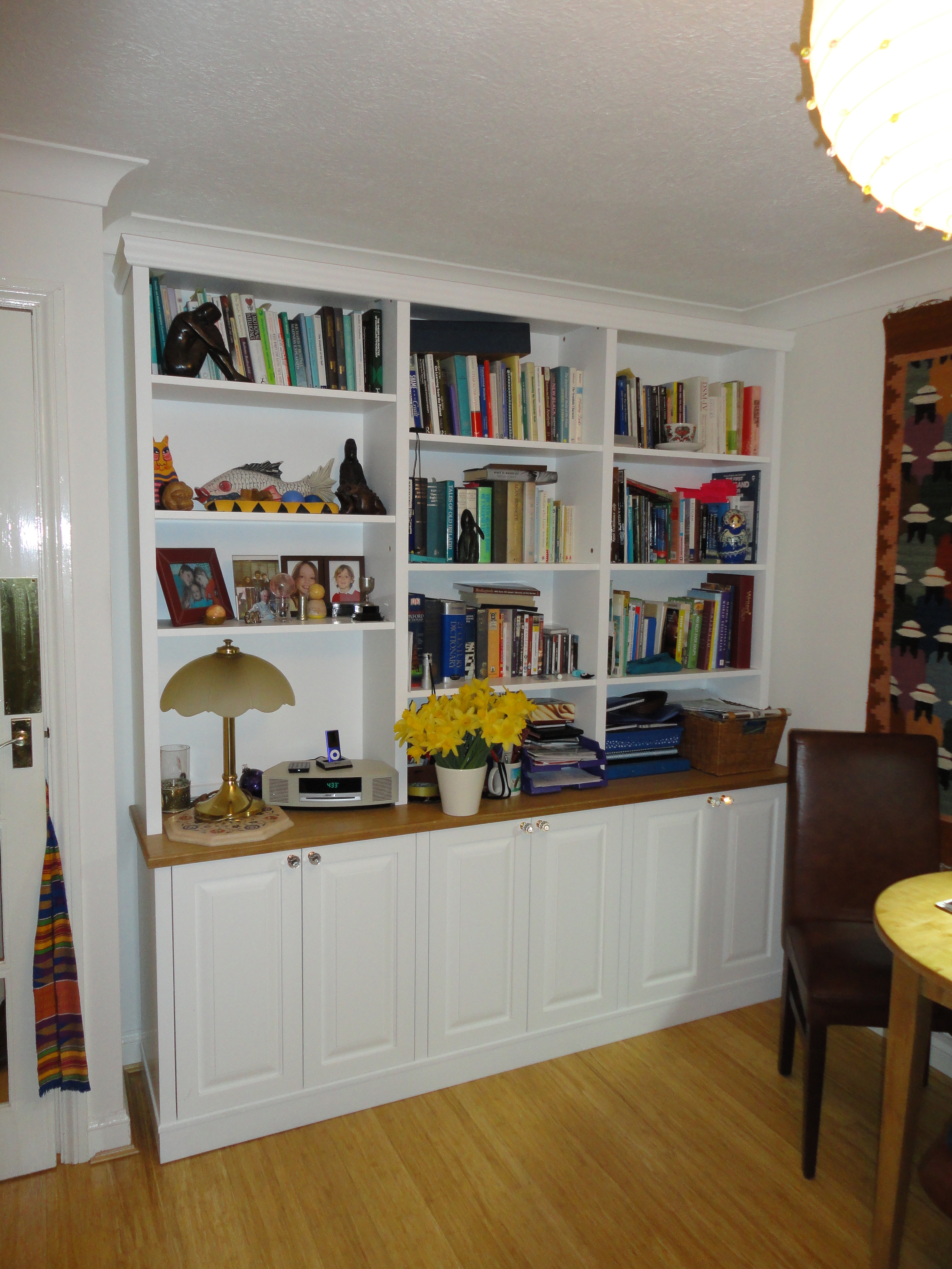 The Sussex Bookcase Company Quality Handmade Storage Furniture For Bookcase With Cupboard (View 13 of 15)