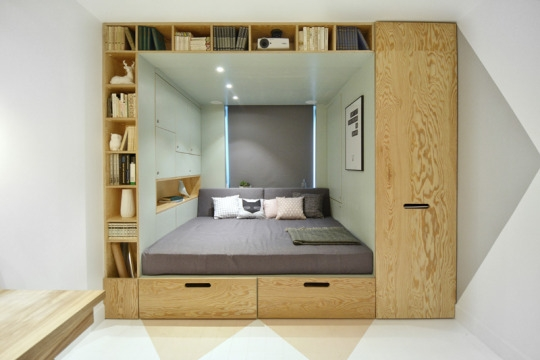 This Incredibly Ingenious Bedroom Space Saving Idea Will Leave You In Space Saving Wardrobes (View 12 of 15)