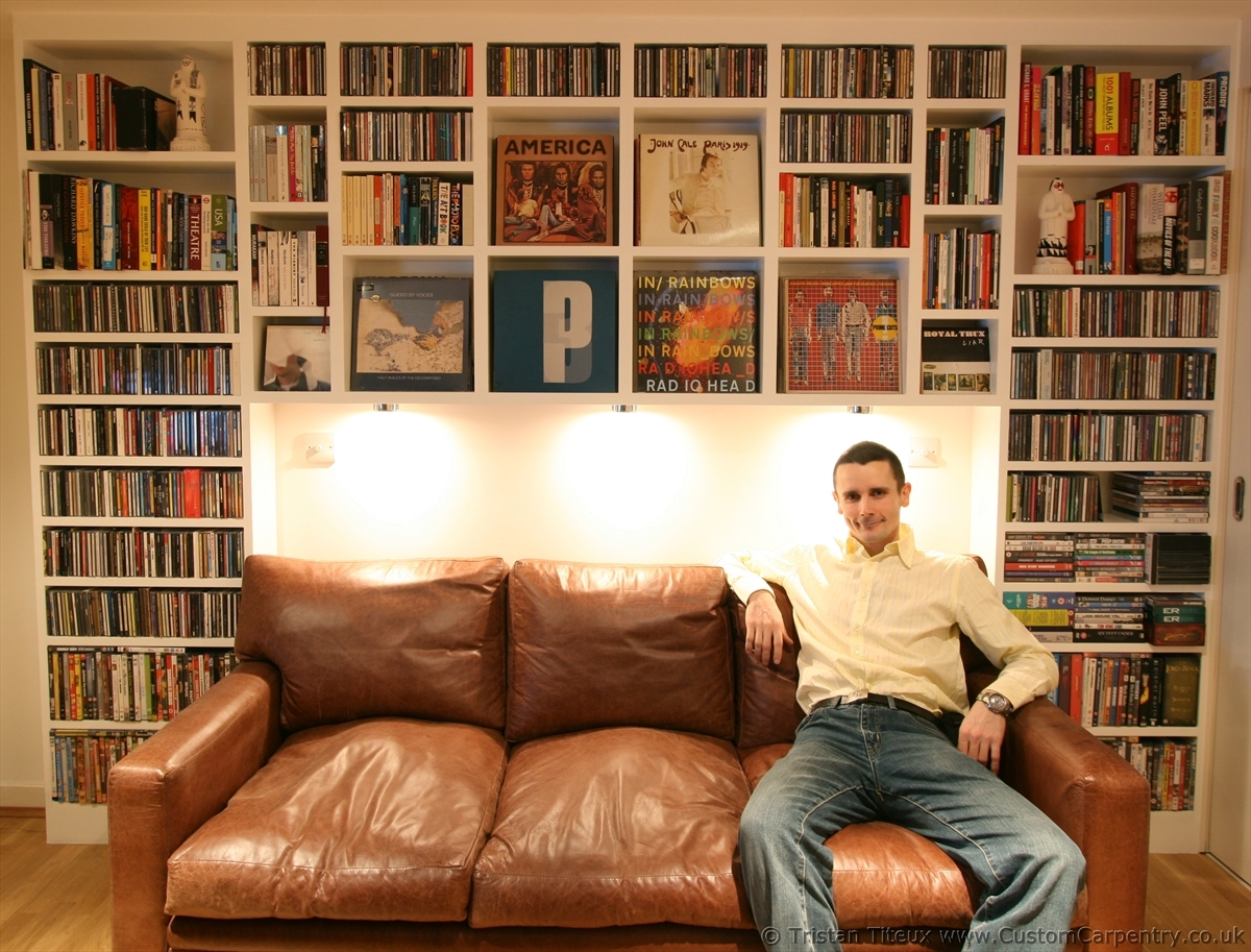 This Is Bespoke Furniture House Lounge Pinterest Bespoke Within Bespoke Cd Storage (#14 of 15)
