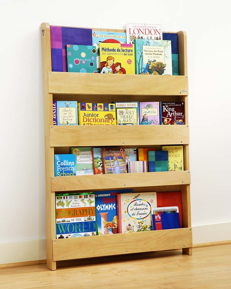 Tidy Books Childrens Front Facing Bookcase White Bookcases Intended For Childrens Bookcases (#14 of 15)