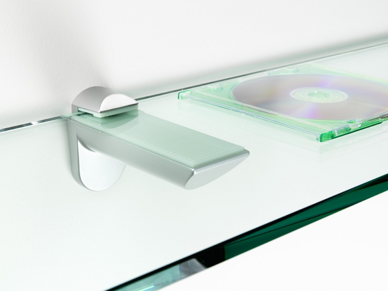 Tips Ideas Interesting Floating Shelves Material Design With Inside Glass Shelf Fittings (View 11 of 12)