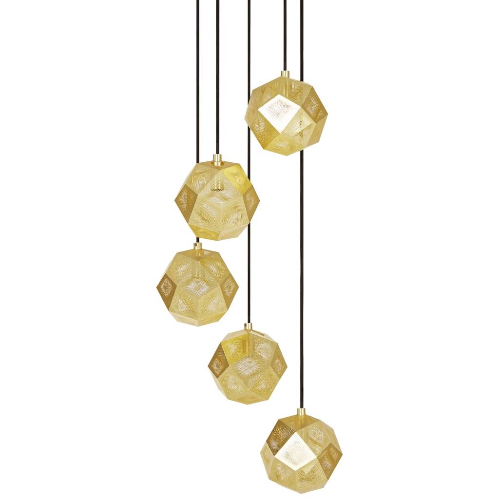Tom Dixon Etch Mini Chandelier Le Studio Luminaires Furniture Regarding Chandelier Accessories (#12 of 12)