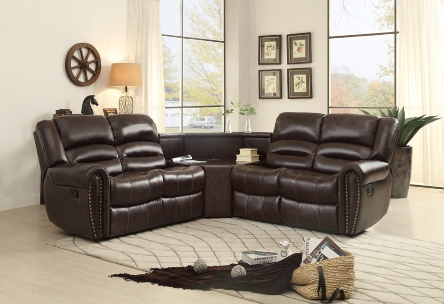 Top 10 Best Recliner Sofas 2017 Home Stratosphere Pertaining To Sectional Sofas For Small Spaces With Recliners (#15 of 15)