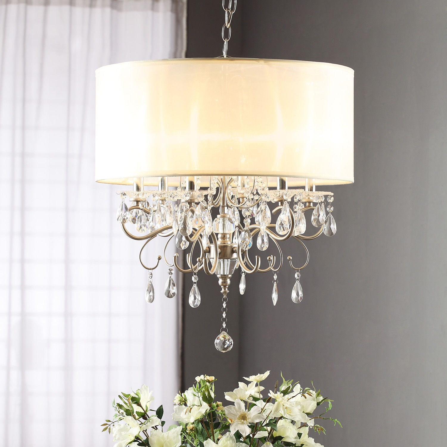 Top 10 Chandeliers Ebay With Cream Crystal Chandelier (#12 of 12)