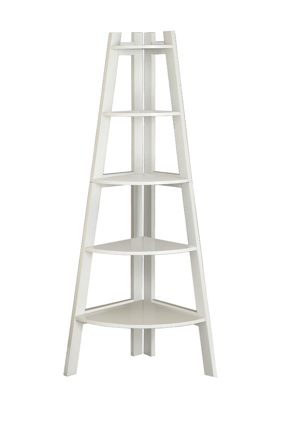 15 Photo Of White Ladder Shelf