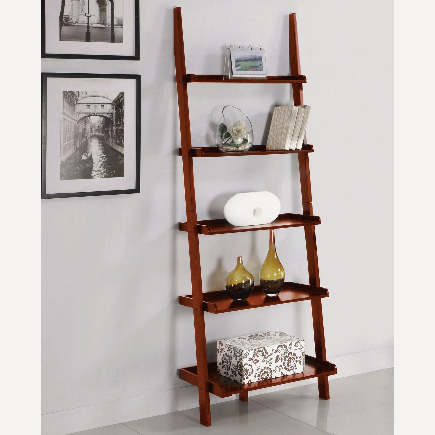 Top 22 Ladder Bookcase And Bookshelf Collection For Your Interiors Pertaining To Ladder Shelves (#13 of 15)