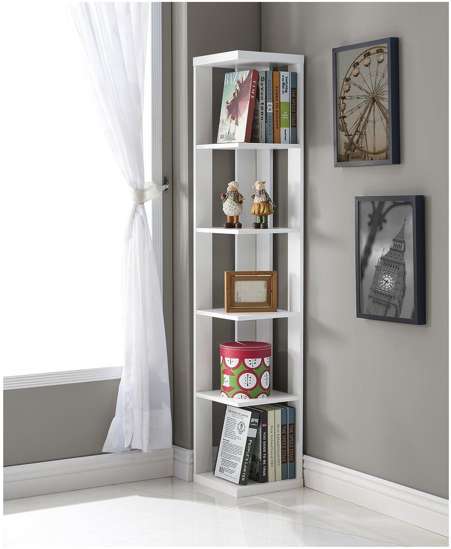 Top 25 Corner Bookshelf And Corner Bookcase Review Regarding Corner Bookcase (#15 of 15)