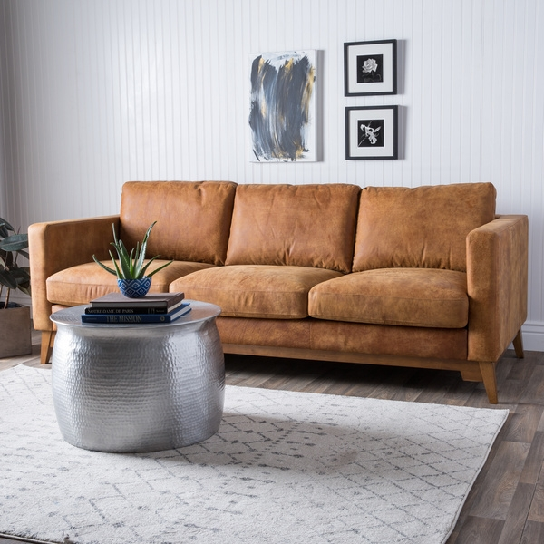 Top 25 Ideas About Tan Leather Couch Living Rooms On Pinterest For Light Tan Leather Sofas (View 10 of 15)