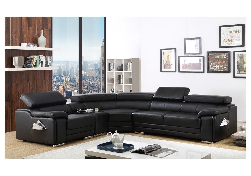 Top Leather Corner Sofa Corner Sofas U Shaped Sofas Modular Sofas Inside Large Black Leather Corner Sofas (#13 of 15)