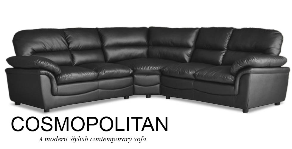 Top Leather Corner Sofa Corner Sofas U Shaped Sofas Modular Sofas Regarding Large Black Leather Corner Sofas (#14 of 15)