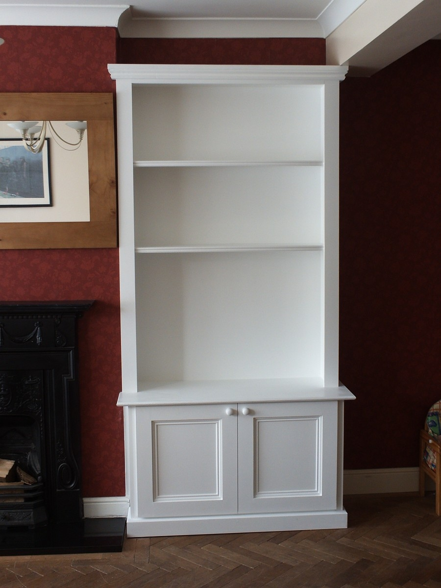 Trad Alcove Unit Bookcase 9001200 Home Office Pinterest Throughout Alcove Bookcases (#14 of 15)