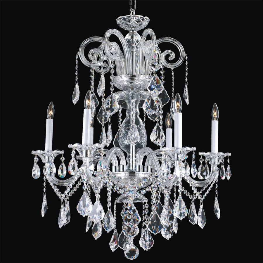 12 Photo Of Traditional Crystal Chandeliers