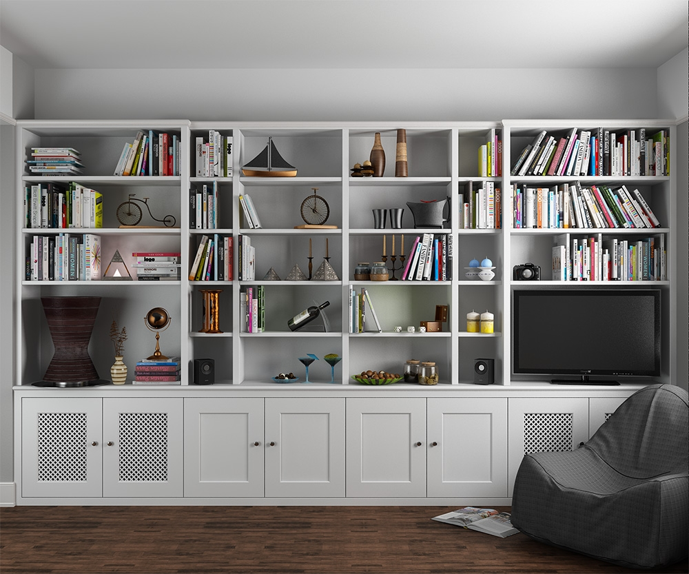 Popular Photo of Fitted Bookcase