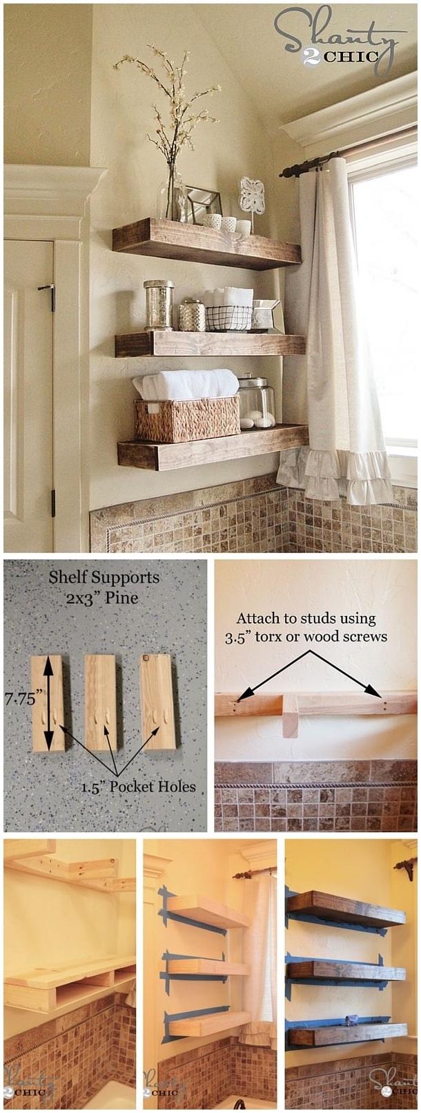 Trend Floating Shelf Decorating Ideas Modern Shelf Storage And With Regard To Floating Shelf 40cm (#14 of 15)
