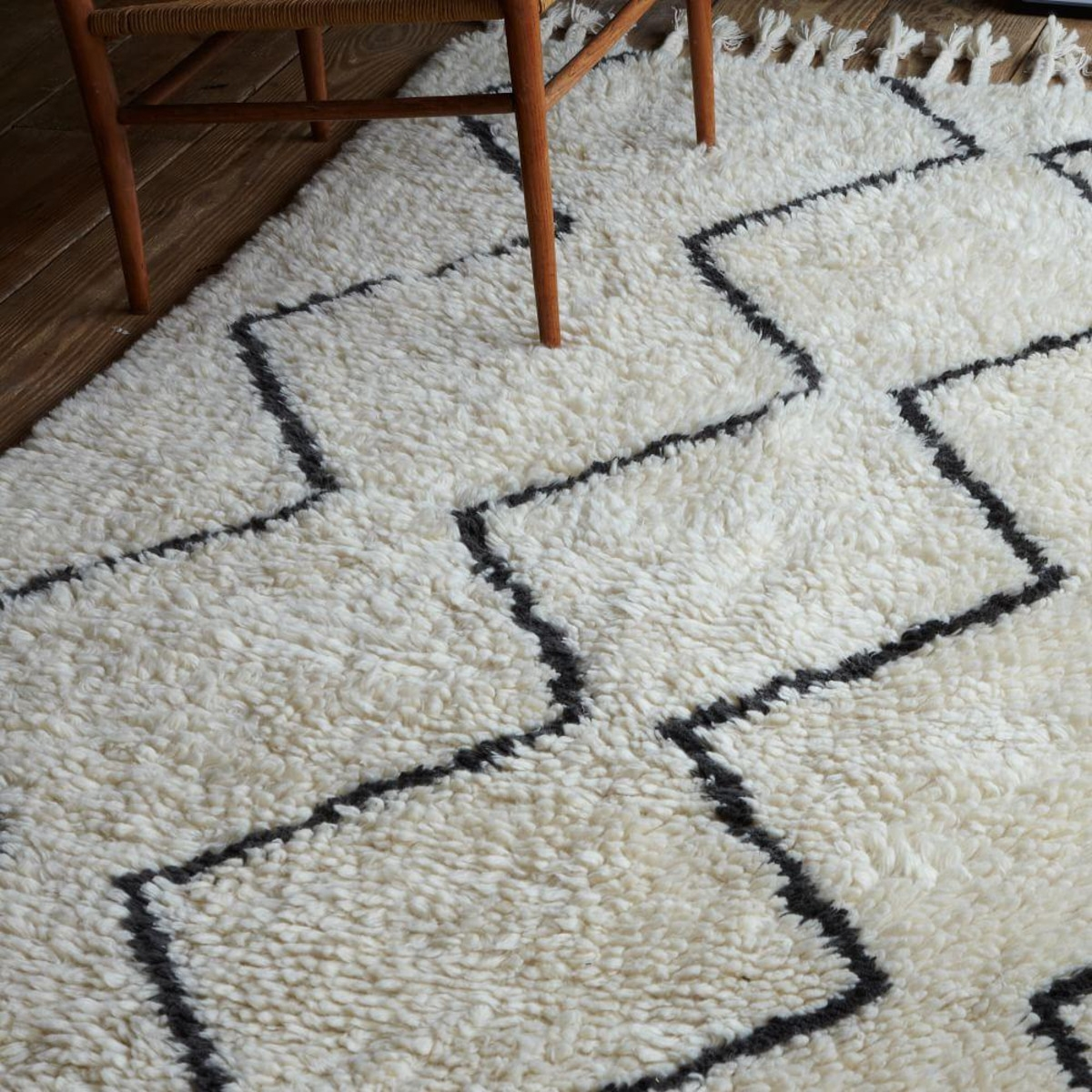 15 collection of wool berber area rugs for Wool berber area rug