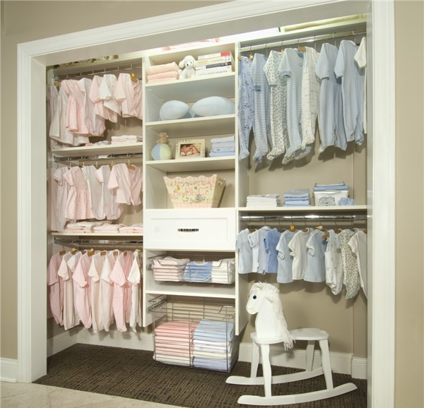 Tricks That Help Keeping Kids Clothes In Order Throughout Wardrobe For Baby Clothes (#14 of 15)