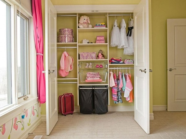 Tricks That Help Keeping Kids Clothes In Order With Wardrobe For Baby Clothes (#15 of 15)