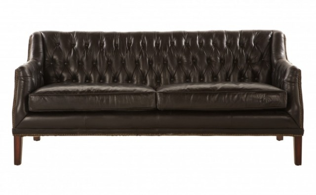 Tufted Leather Sofas Making It Lovely Within Cheap Tufted Sofas (#14 of 15)