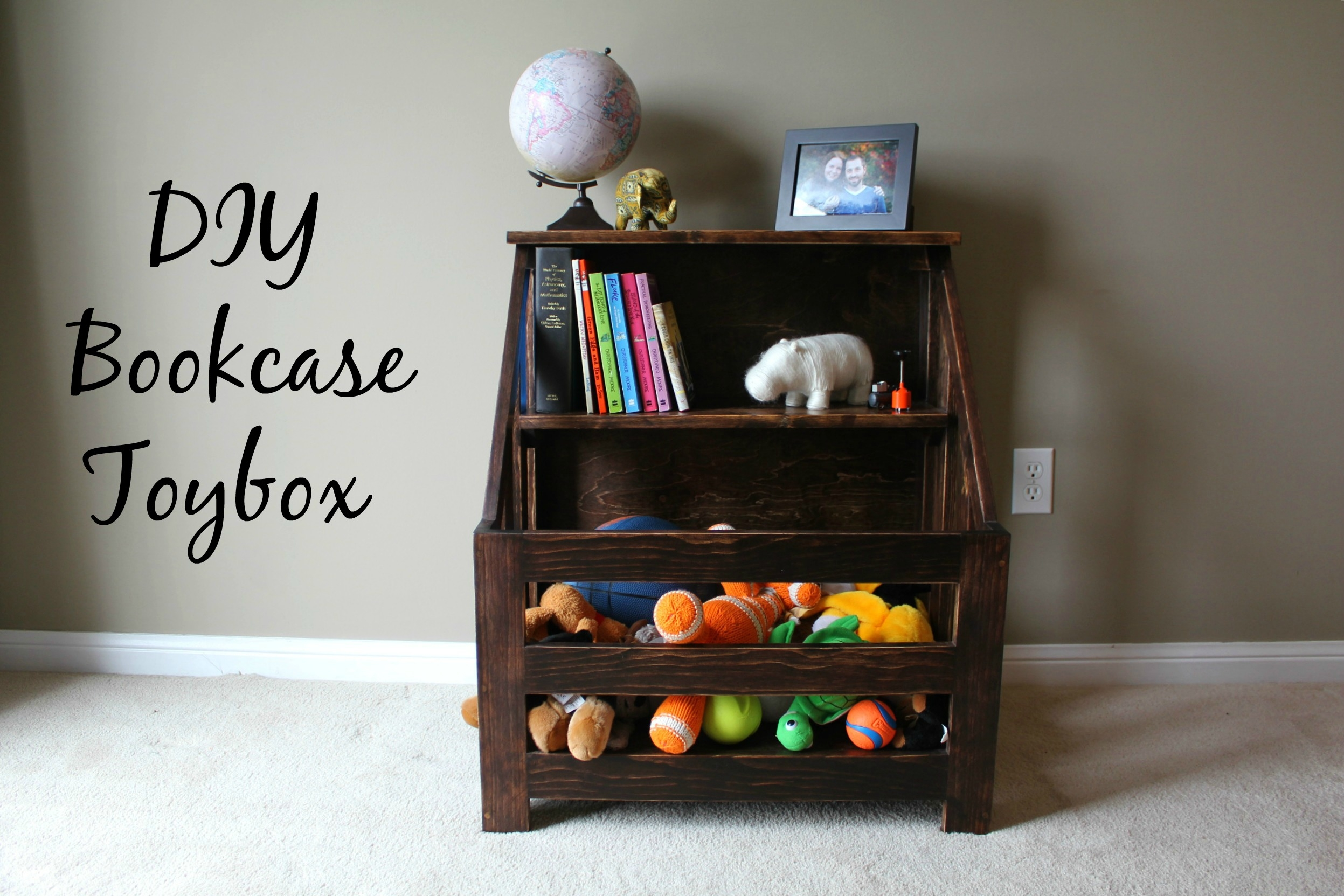 Turtles And Tails Bookshelf Toybox Combo Diy Within Bookshelf Drawer Combination (#14 of 15)