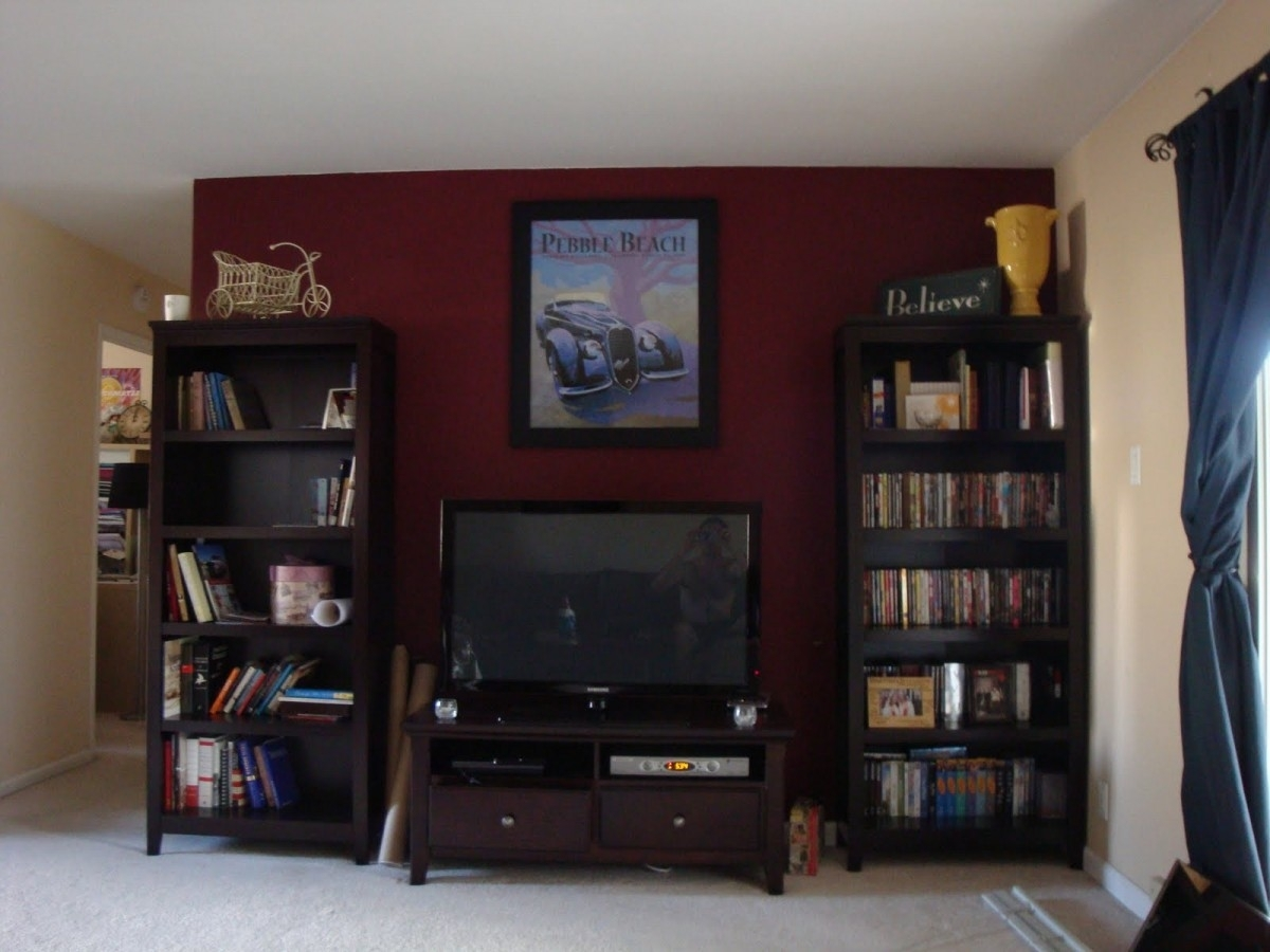 Tv Stand Bookcase Combo Campernel Design In Bookcase With Tv Stand (View 13 of 15)