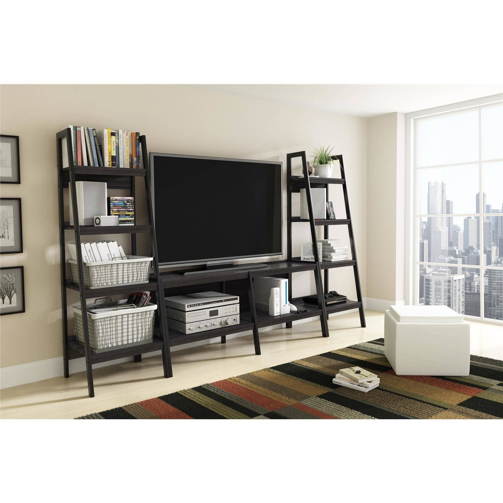 15 Photo Of Tv Unit Bookcase