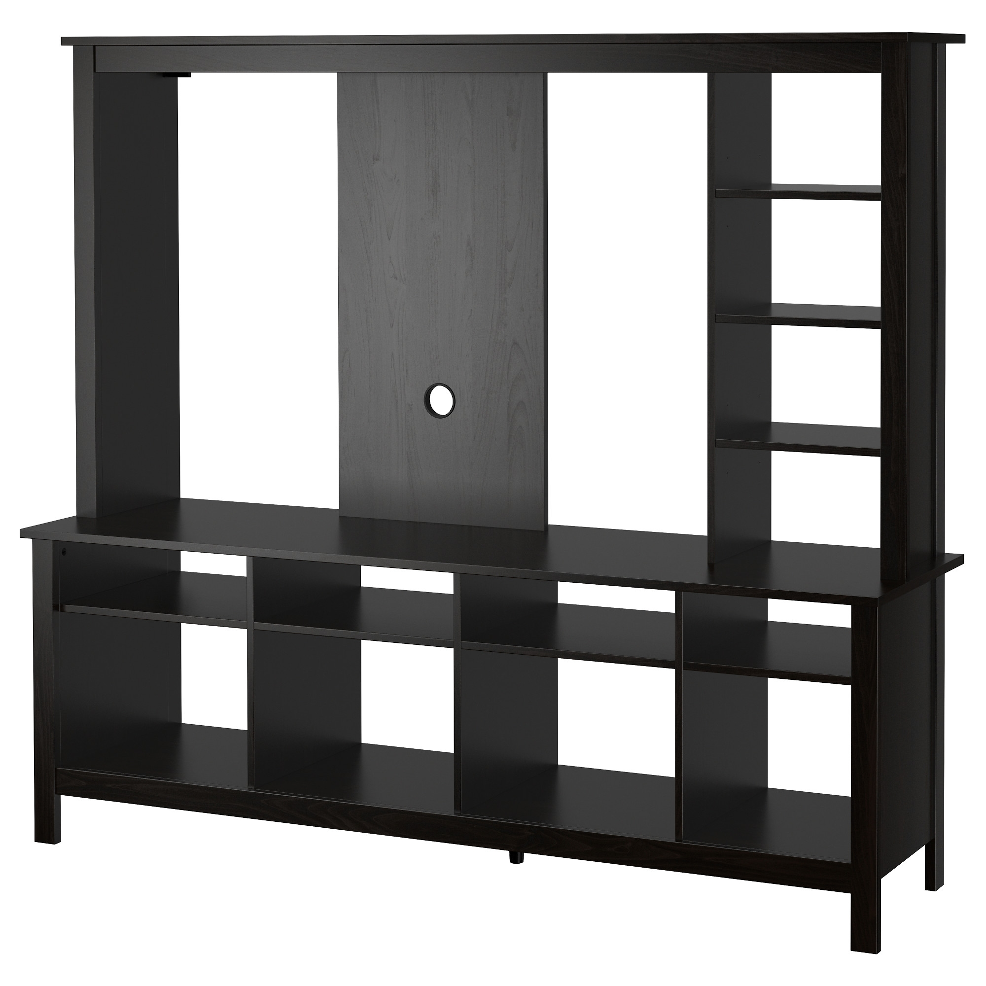 Tv Stands Entertainment Centers Ikea Throughout Bookcase With Tv Storage (#14 of 15)