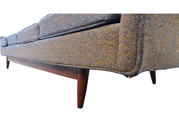 Tweed Fabric Sofa Thesofa With Regard To Tweed Fabric Sofas (#15 of 15)