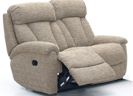 Two Seater Recliner Sofa Fraufleur With Regard To 2 Seat Recliner Sofas (#15 of 15)