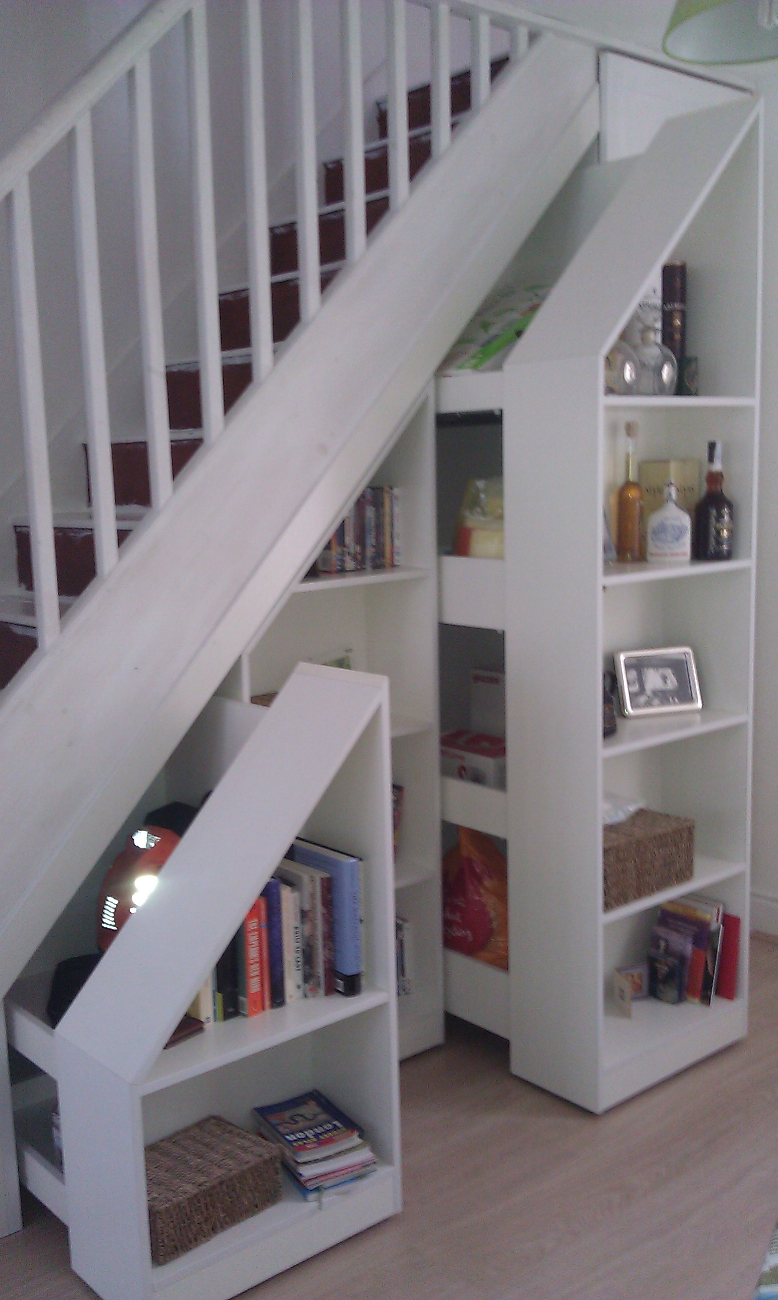 Under Stairs Storage Smart Storage Pinterest Stair Storage Inside Bookcase With Cupboard Under (#11 of 15)