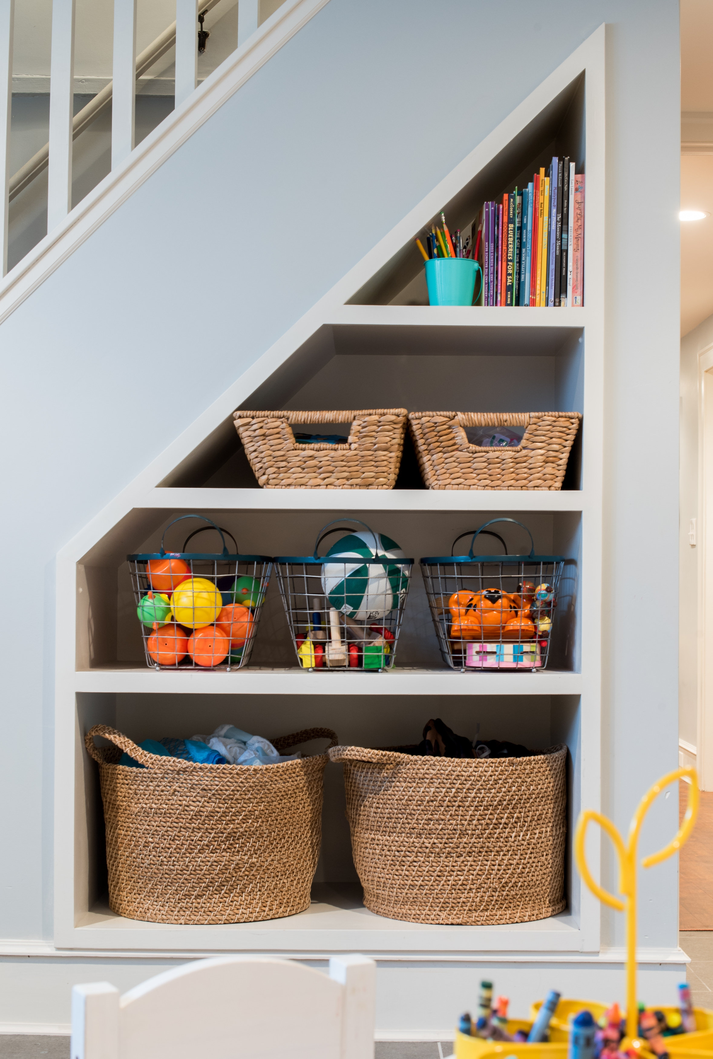 Under Stairs Storage Smart Storage Pinterest Stair Storage With Regard To Bookcase With Cupboard Under (#12 of 15)