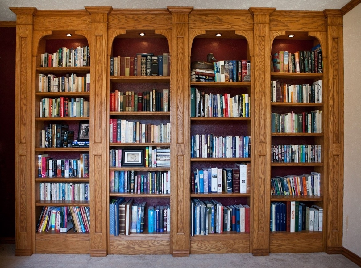 Unique Book Cases Home Decor For Classic Bookshelf Design (#13 of 15)