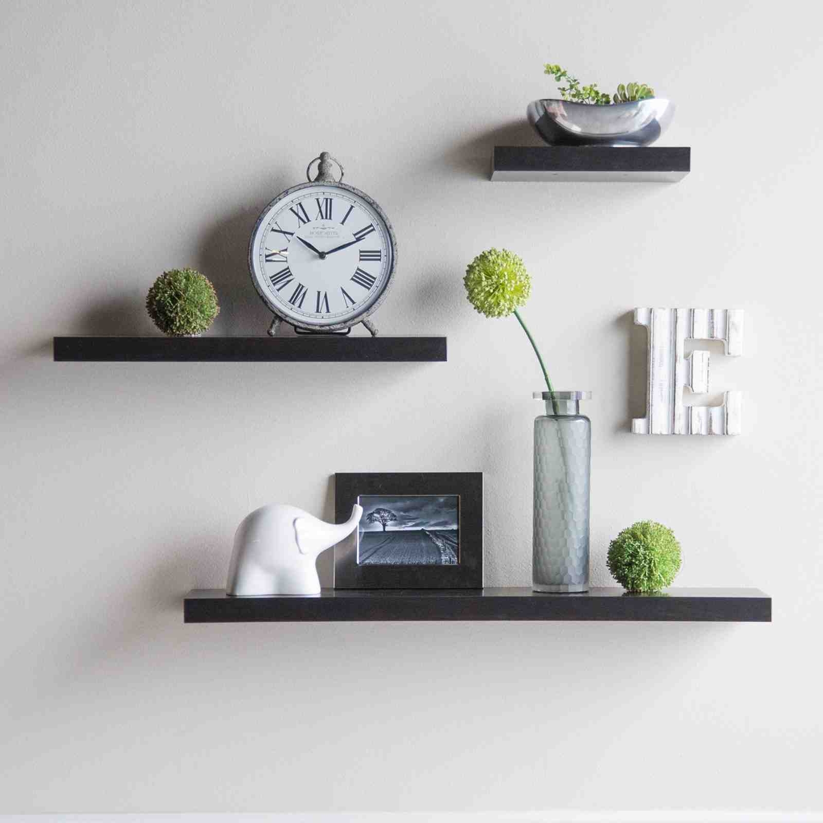 Popular Photo of Floating Wall Shelves